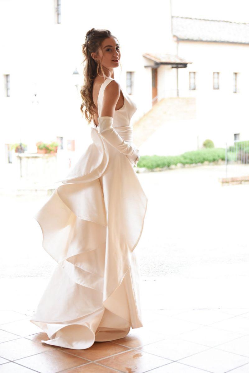 abito sposa sartoriale