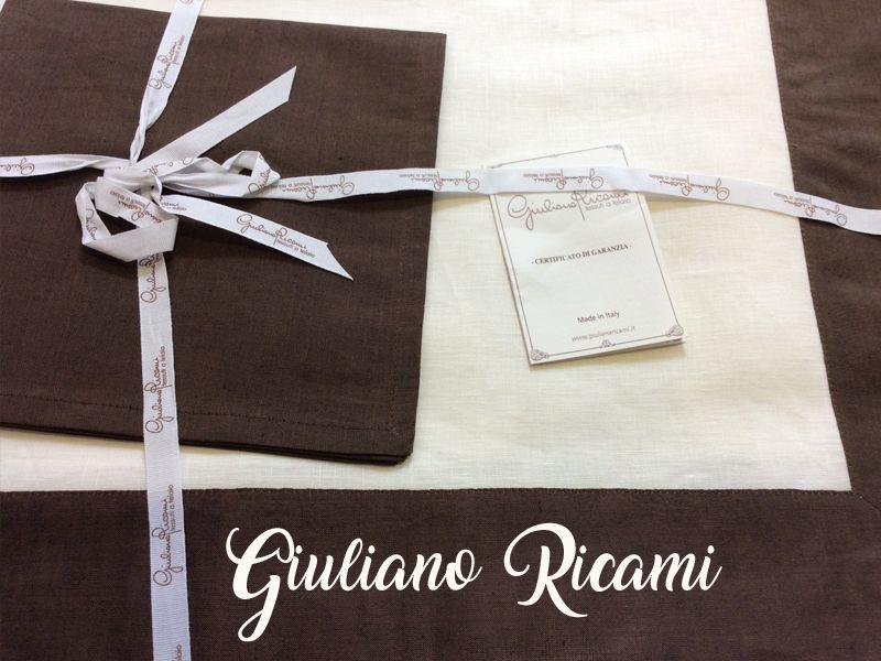 Offerta tovaglie Giuliano Ricami - Promozione tovaglie lino - Borgo Crocetta