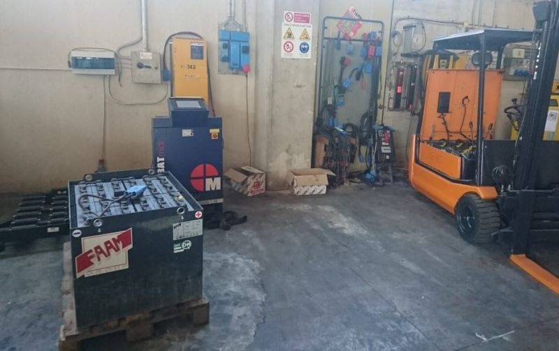 Offerta rigenerazione batterie industriali per trazione - Città di Castello - Penchini
