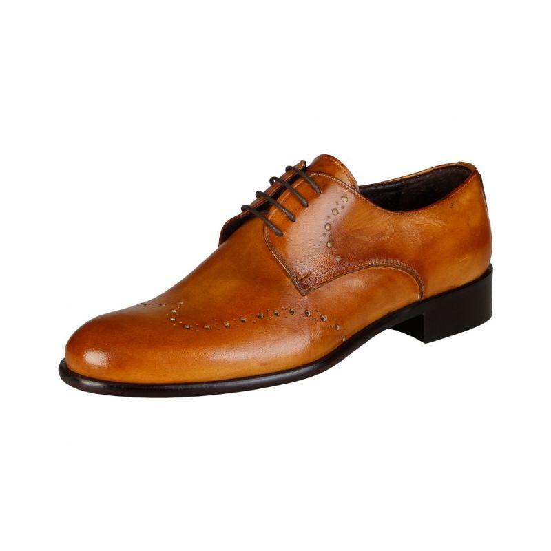 Offerta coda di rondine - vendita scarpa artigianale - tamponata a mano