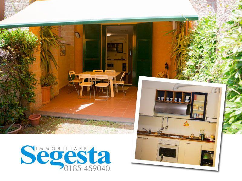offerta appartamento con giardino sestri levante - promozione appartamento centro sestri levant