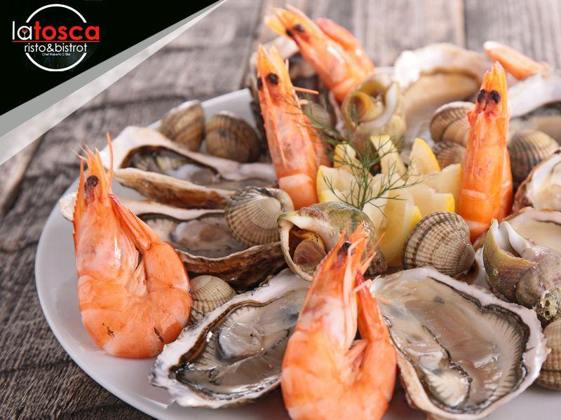 Offerta pesce fresco Salerno - Promozione menu a base di pesce -  La Tosca