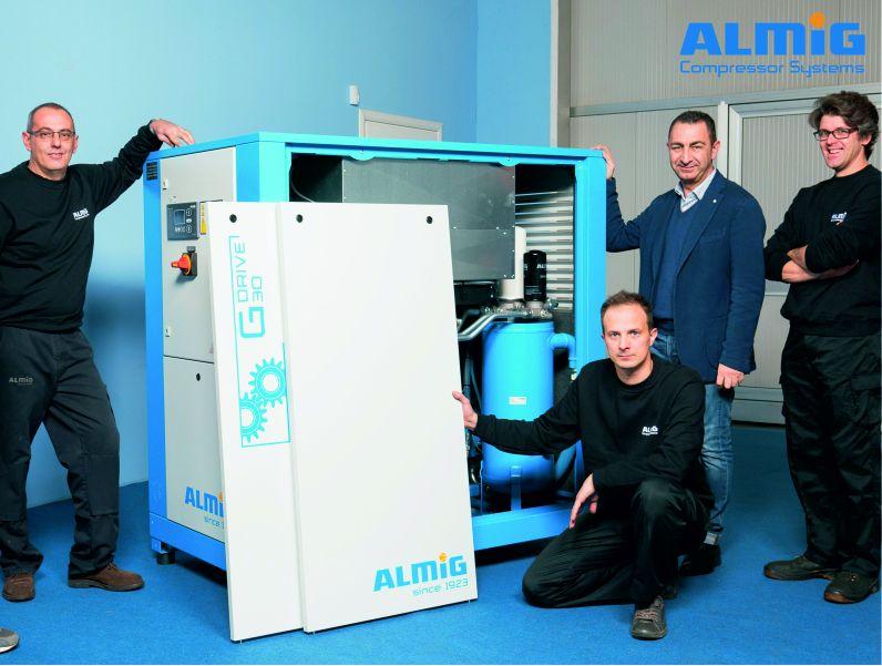 offerta aria compressa-promozione compressori d aria-almig compressor systems Italia
