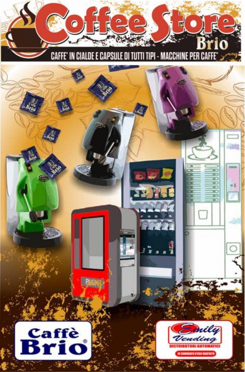 Offerta caffè - Offerta capsule e cialde caffè - Occasione distributori - Coffee Store Brio