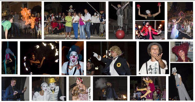 Offerta organizzazione Cilento International Buskers Festival e premiazione artisti di strada