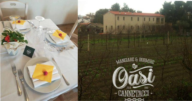 offerta ristorante cucina casereccia e marchigiana a  falconara - occasione mangiare oasi AN