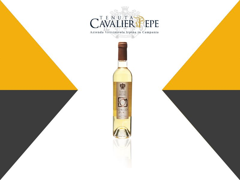 Offerta vendita e distribuzione vino passito artigianale Chicco D'oro -  La Bottega del Vino
