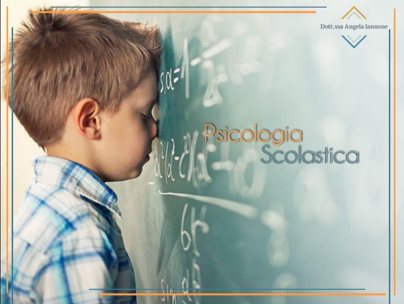 Offerta Psicologia scolastica - Promozione Consulenza Scolastica - Dott.ssa Iannone Angela