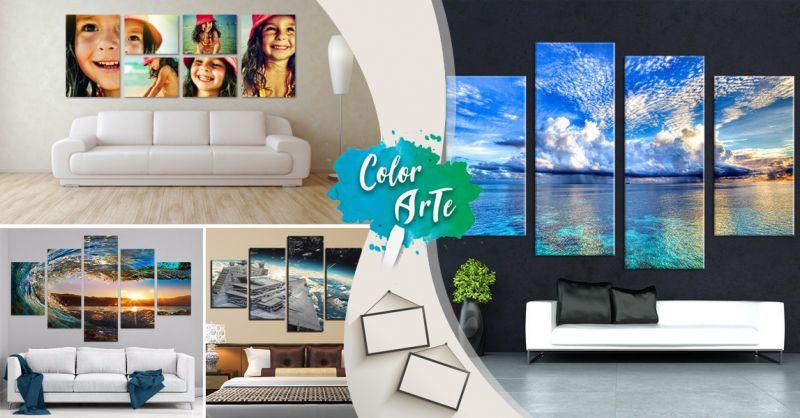 Offerta vendita cornici  - Promozione servizio stampe su tela foto personalizzate a Treviso