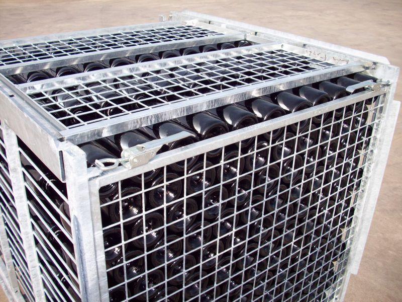 Offerta produzione contenitori JOLLY-CO-Offerta gyropalette attrezzature per remuage automatico