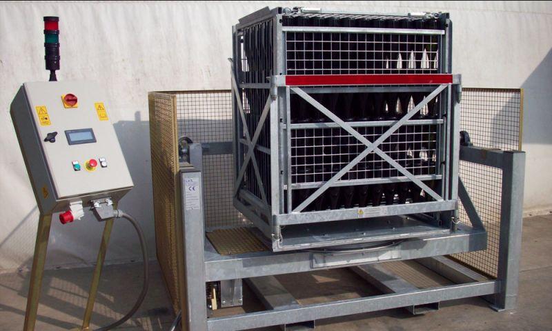 Offerta produzione contenitori ROTO-JOLLY  - Occasione sconto macchine Remuage in acciaio