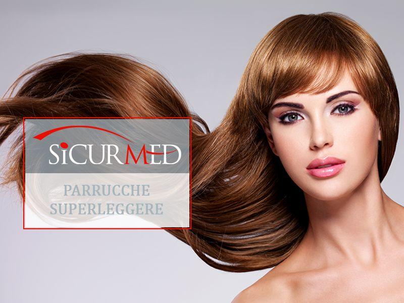 Sicurmed - Offerta Parrucche Chemioterapia Donna - Occasione Parrucche per Chemioterapia