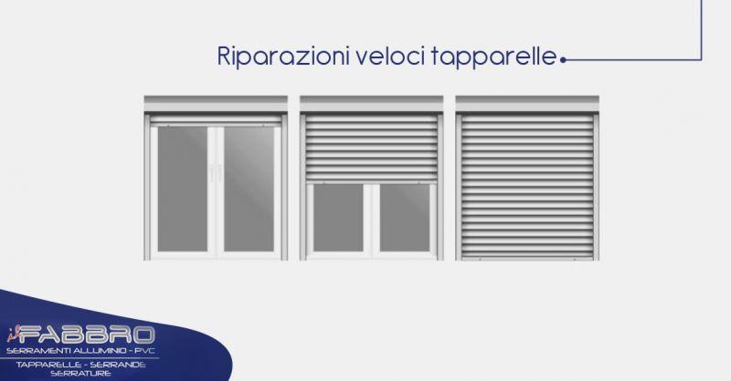 Offerta servizio a domicilio riparazioni veloci tapparelle elettriche Torino- Il Fabbro