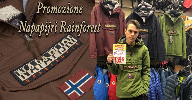 offerta giacca RAINFOREST NAPAPJIRI Vicenza - occasione vendita abbigliamento napapijri Vicenza