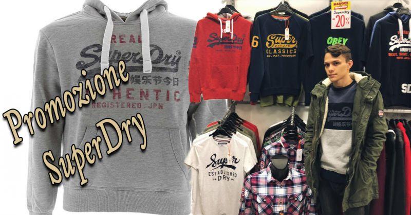 offerta giacca superdry in sconto Vicenza - occasione vendita abbigliamento SuperDry Vicenza