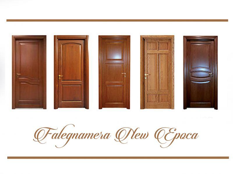 Offerta Porte Interne in legno - Promozione produzione porte interne in legno- Falegnameria New