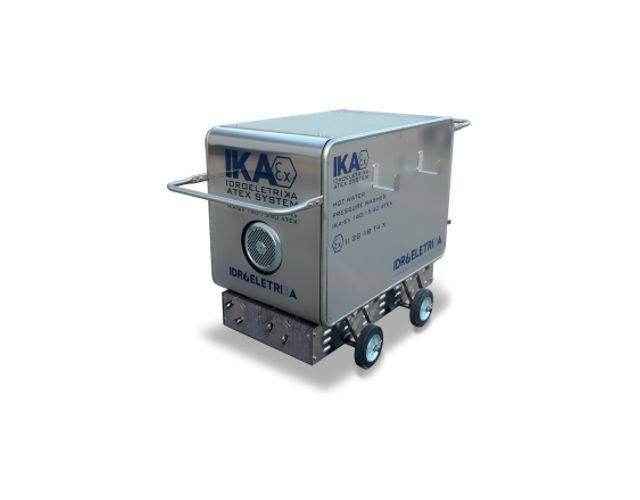 Idropulitrice atex a riscaldamento elettrico - Idropulitrice atex per industria meccanica