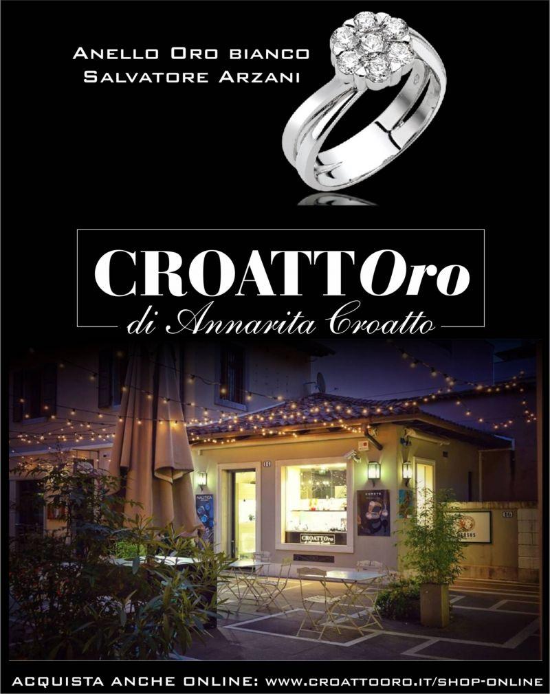 Offerta Anello Salvatore Arzani UD - Occasione Salvatore Arzani UD - Offerta anello oro bianco