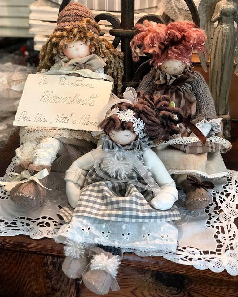 offerta bambole personalizzate fatte a mano - occasione realizzazione bambole fatte a mano