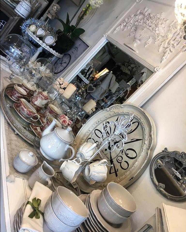 offerta vendita posate francesi - occasione vendita set di piatti in stile provenzale padova