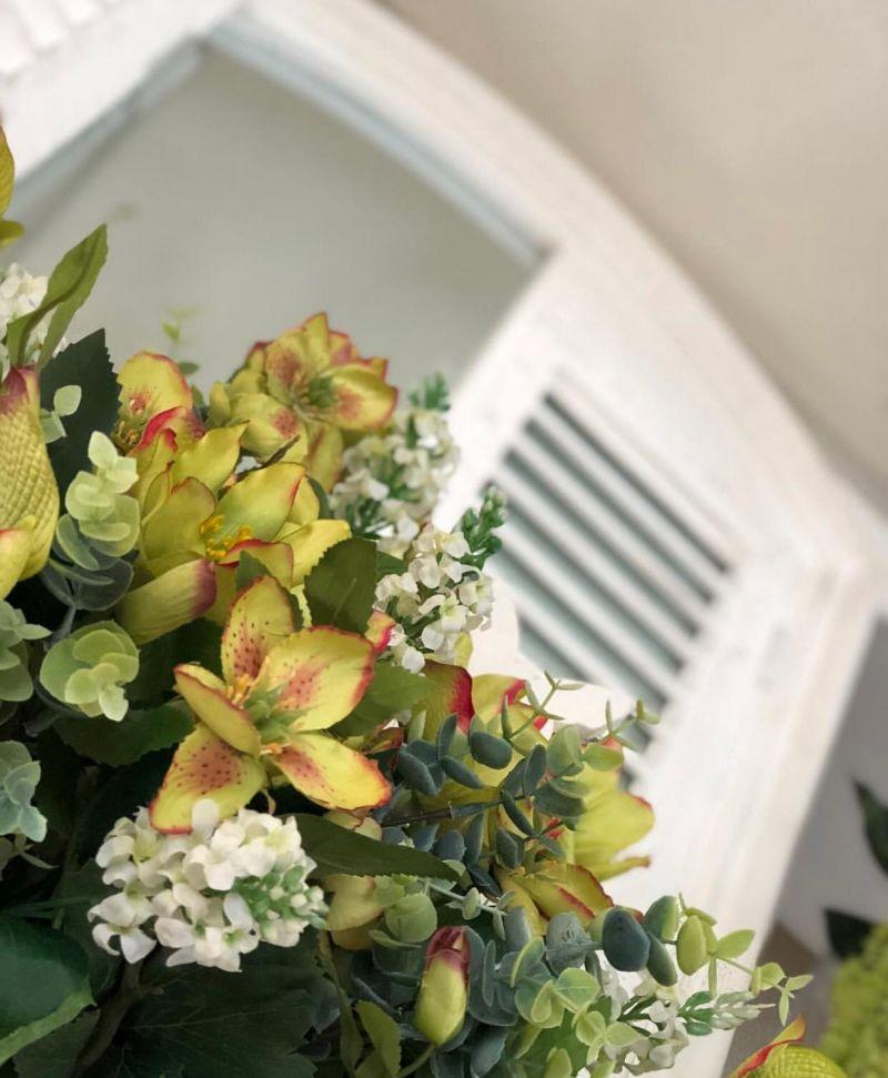 offerta composizioni floreali padova - occasioni fiori misti finti padova