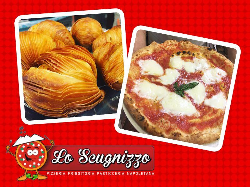 offerta pizza napoletana - promozione cucina napoletana - lo scugnizzo
