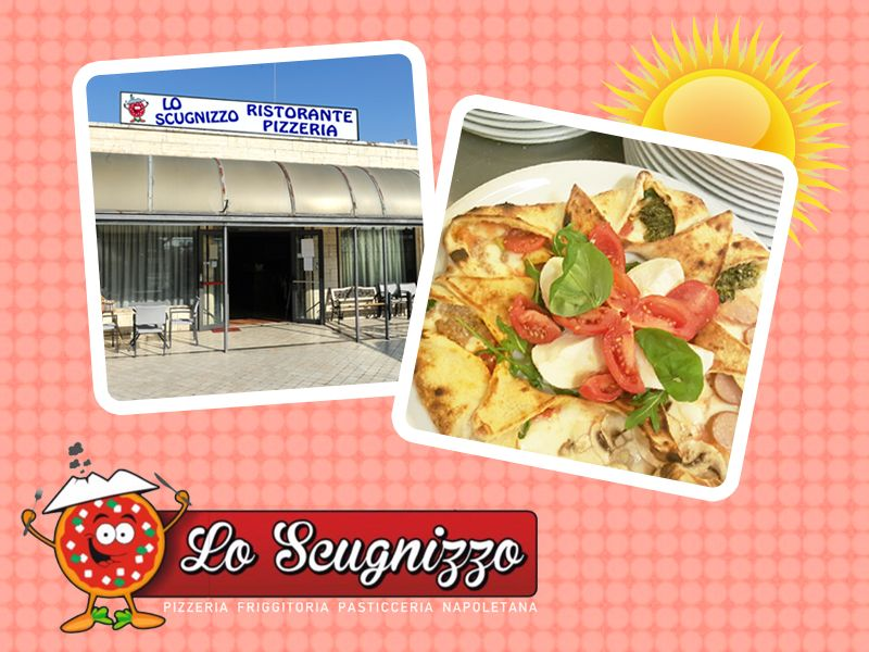 offerta pizzeria friggitoria pasticceria napoletana - tavoli all'aperto lo sugnizzo