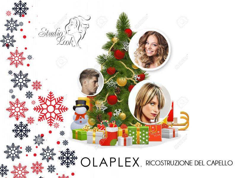 Offerta Ricostruzione Olaplex Capelli Torino - Promozione Natale Olaplex Torino - Studio Look