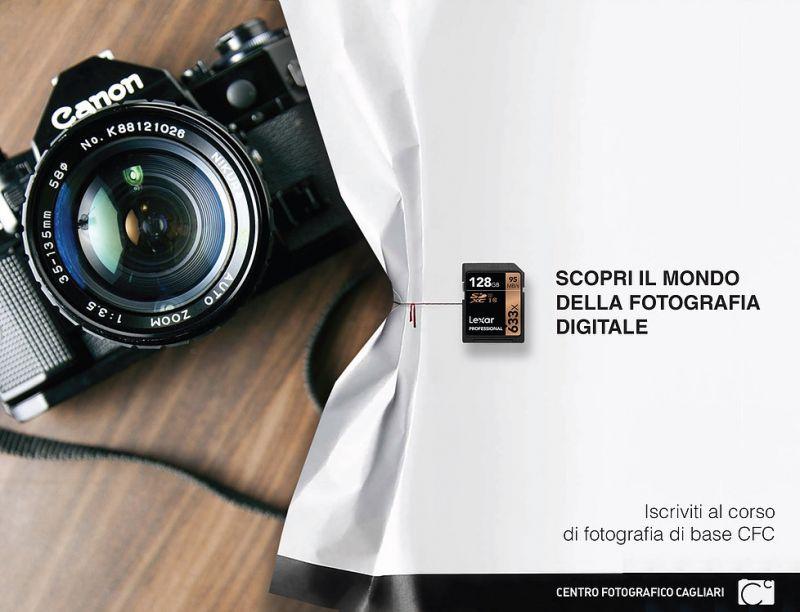 PROMOZIONE CORSO BASE DI FOTOGRAFIA - CRISTIAN CASTELNUOVO