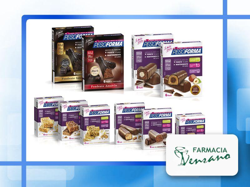offerta pesoforma barrette sostututive pasto - promozione barrette pesoforma - farmacia venzano