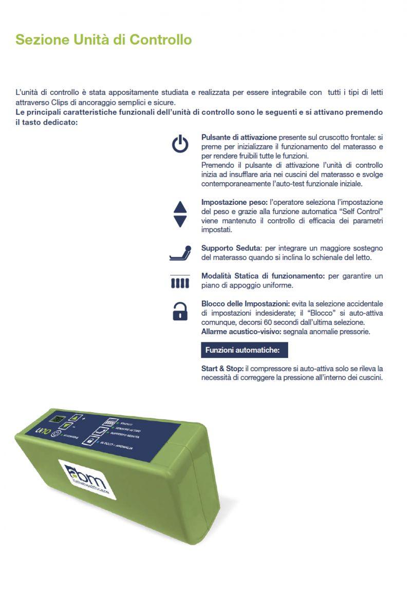 Materasso antidecubito / lesioni da decubito / anziani / allettato / decubito
