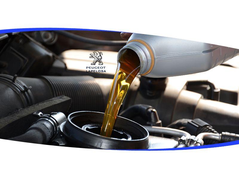 Offerta cambio olio e filtro ricambi originali Peugeot Atena Lucana - La Pelosa
