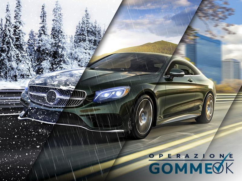 Offerta servizio cambio gomme - Promozione servizio sostituzione pneumatici GommeOk