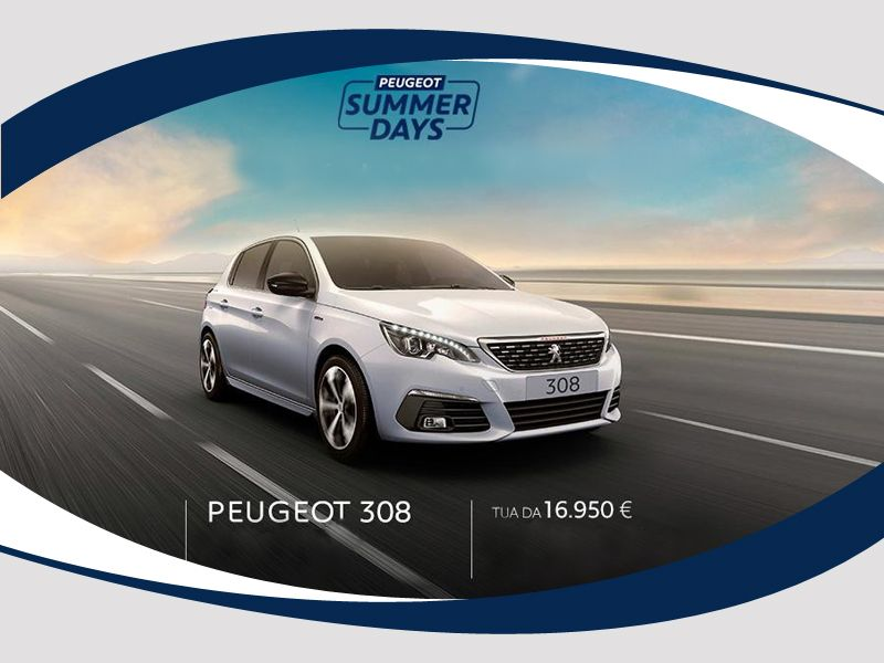 Offerta vendita auto Peugeut 308 Berlina PureTech 110 SeS Active a Salerno - Lapelosa