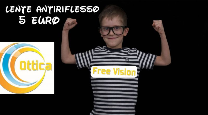 offerta lente antiriflesso per occhiali bambini - occasione occhiali bambini lenti