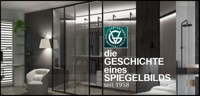 Glasgebäude Bau Gelegenheit - Glas Verarbeitung Angebot hergestellt in Italien