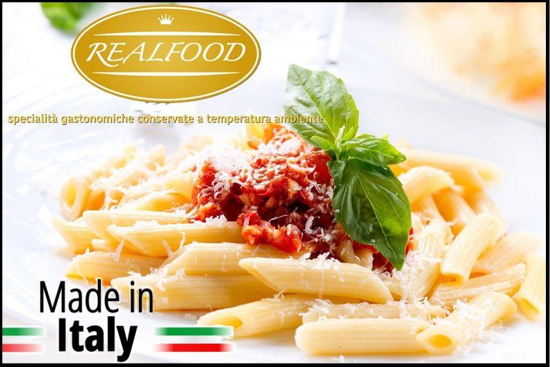 REALFOOD Offerta vendita specialita' gastronomiche Italiane - Promozione piatti tipici italiani