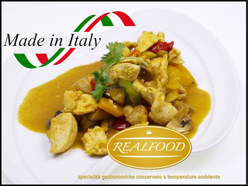 REALFOOD S.R.L. Angebot Online verkauf von italienischen gastronomischen Spezialit?