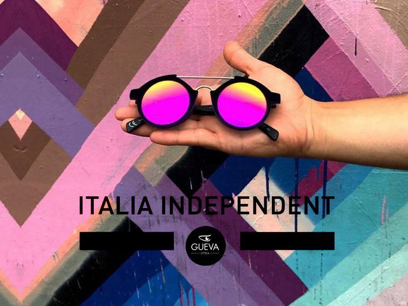 Offerta distribuzione occhial da vista e da sole Italia Independent - Ottica Gueva