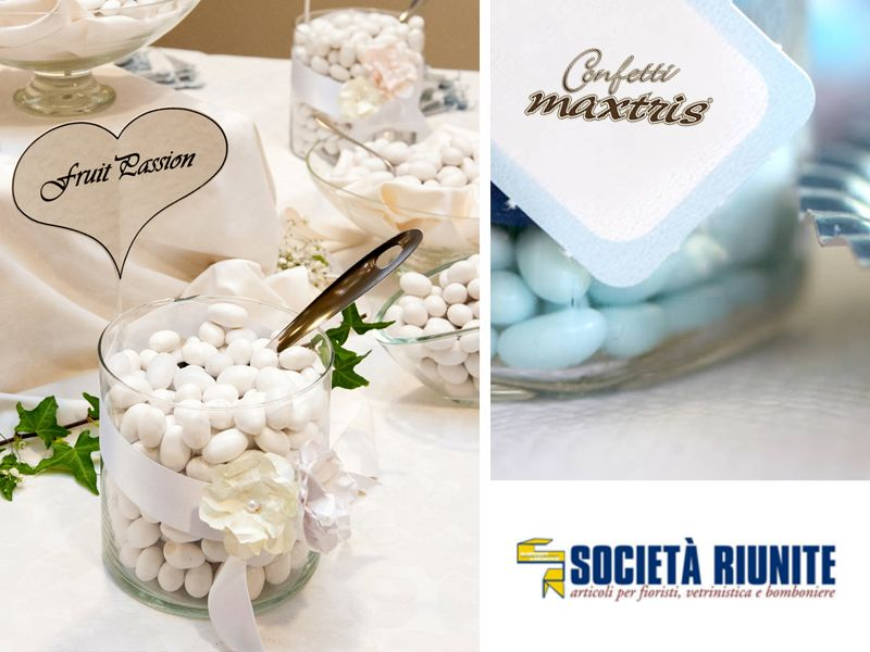 offerta confetti gusti assortiti - promozione confetti confettate maxtris buratti