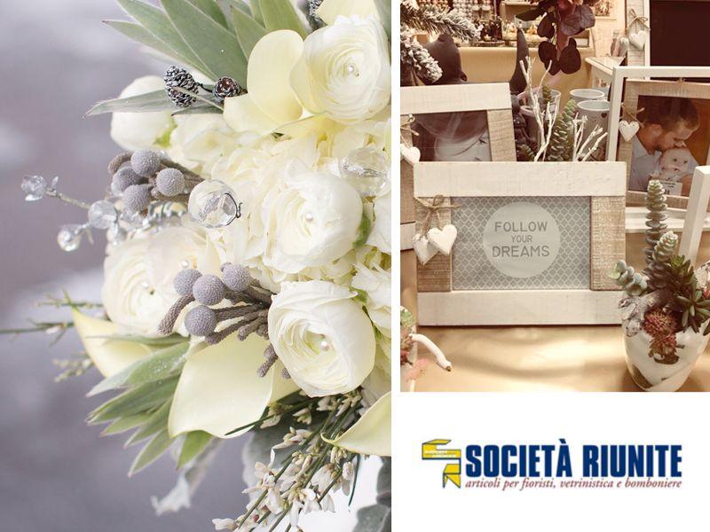 offerta articoli da regalo - promozione articoli per fioristi vetrinistica -  società riunite