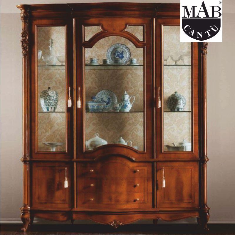 offerta vetrina collezione principe mab como - promozione arredamento classico mab como