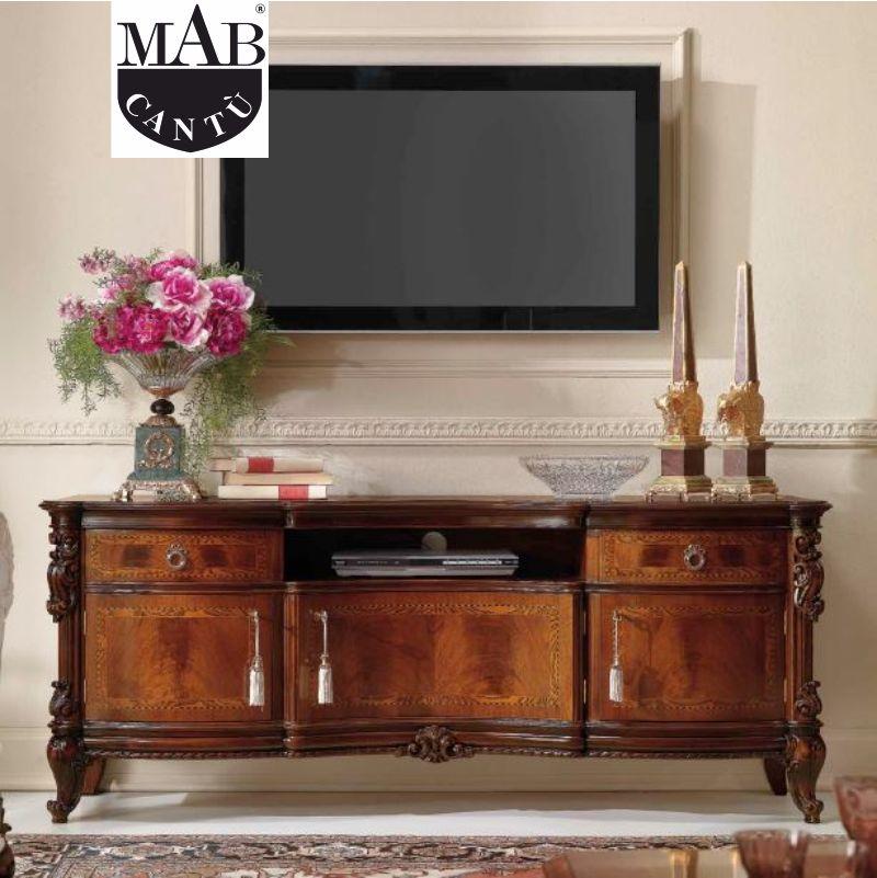 offerta mobili televisore mab como - promozione arredamento classico sala salotti mab como