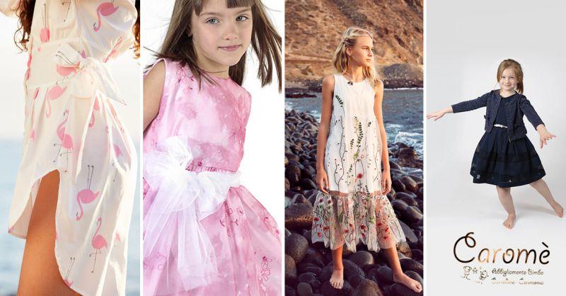 Offerta collezioni abbigliamento estivo per bambini e bambine a Lecce - Carome'