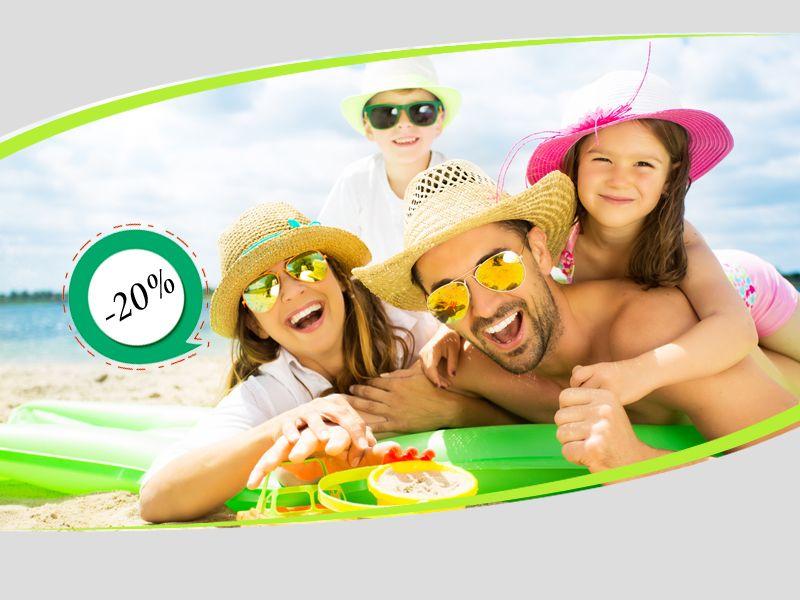 Offerta vendita occhiali da sole 2018 per famiglie - Promozione distribuzione occhiali da sole