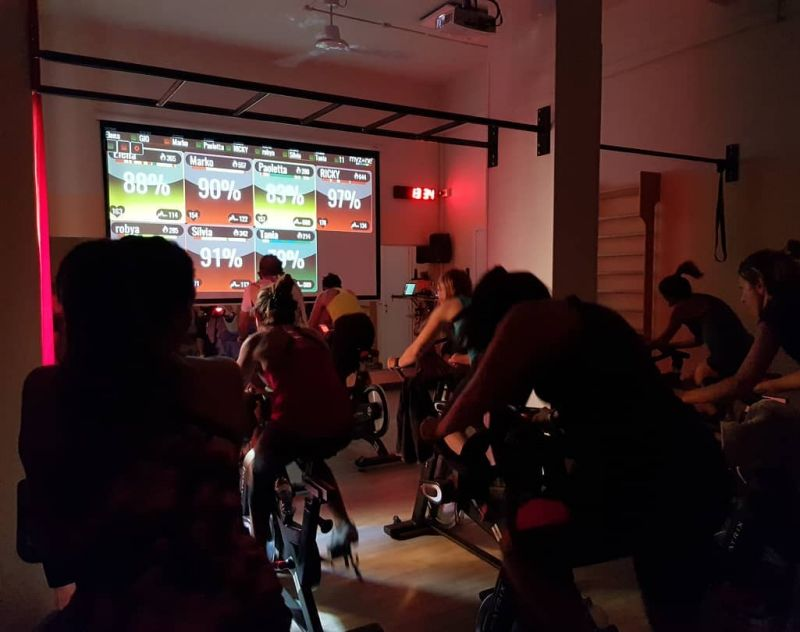 offerta corsi spinning indoor cycling - allenamento spinning my zone palestra wellness