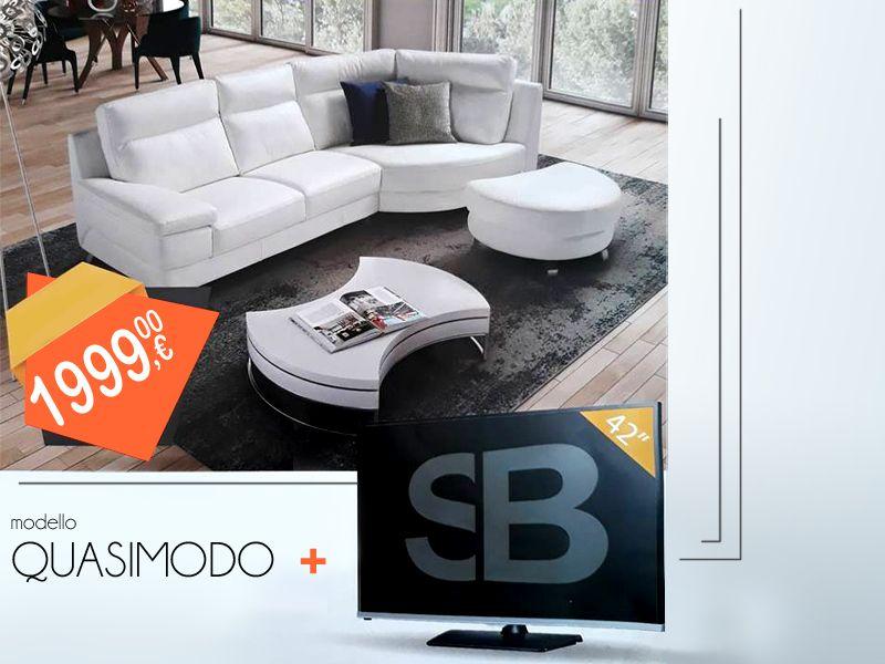 Offerta vendita e distribuzione divano SBSalotti a Salerno - Il Salotto e d'Intorni arredamenti