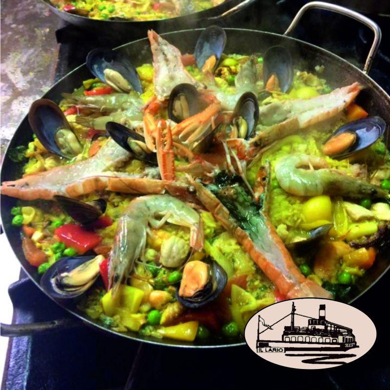 offerta paella venerdi pranzo como il lario-promozione paella venerdi cena lungo lago como