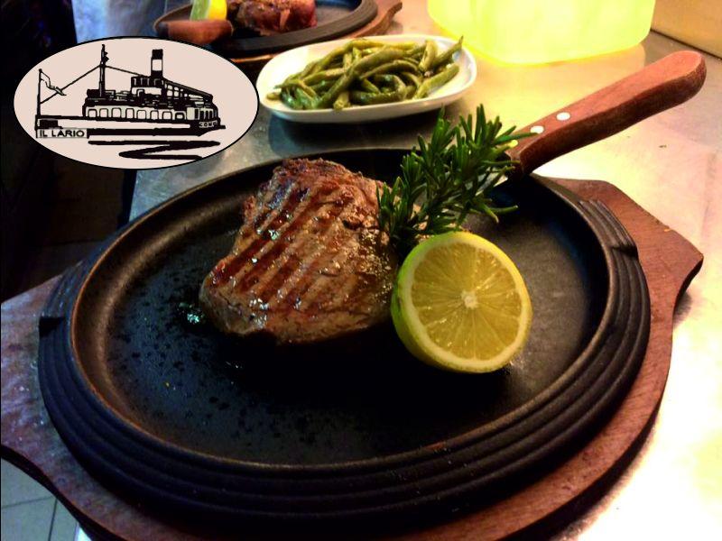 offerta carne alla griglia lago di como il lario-promozione grigliata di carne pesce lungo lago