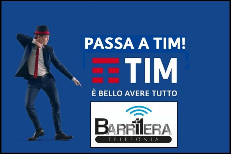 TELEFONIA BARRIERA11 offerte speciali passa a Tim - promozioni operator attack TIM TRIESTE